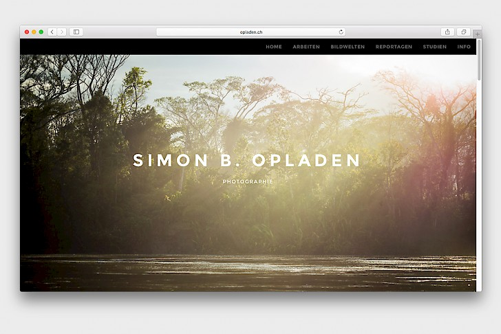 "Website, Simon Opladen, Fotografie | <i class=""icon ion-md-globe""></i> <a href=""http://www.opladen.ch"" target=""blank"">opladen.ch</a>"